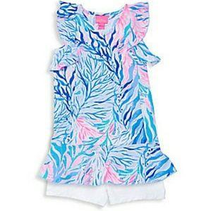Lilly Pulitzer Toddler Girl Tennis Dress 2-3 XS